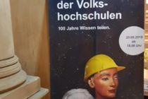 VHS-Plakat zur Veranstaltung